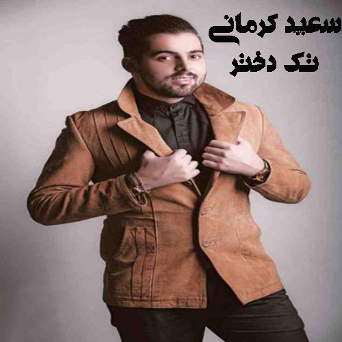 دانلود آهنگ سعید کرمانی بنام تک دختر